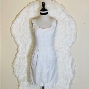 Tory Burch White Shift Dress